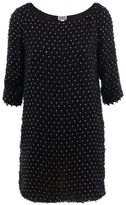 PHILOSOPHY DI ALBERTA FERRETTI - Black embellished shift dress