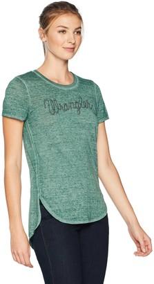 Wrangler Women's Short Sleeve Logo Tee Shirt