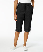 Style and Co Plus Size Skimmer Shorts, Created for Macy's