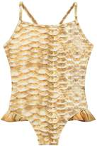 Molo Gold Fishshell Noona Swimsuit