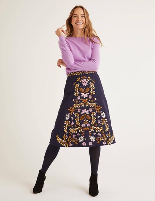 Eyre Embroidered Skirt