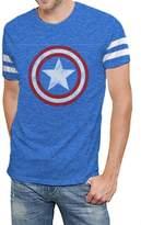 Hybrid Marvel Comics Avengers Age of Ultron Varsity Logo Mens T-shirt XL