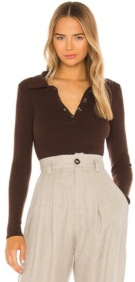 One Grey Day X REVOLVE Tamar Crop Polo