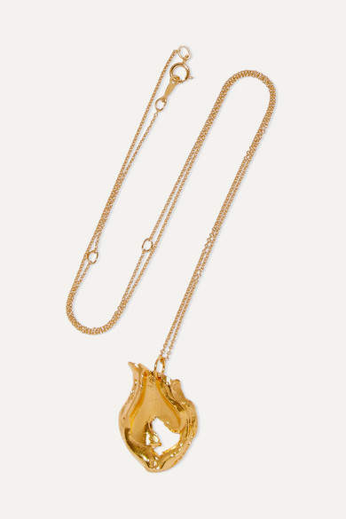 Alighieri The Spellbinding Amphora Gold-plated Necklace