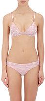 Onia Women's Danni Striped Bikini Top