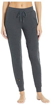 Alo Fierce Sweatpants (Anthracite) Women's Casual Pants