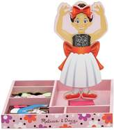 Melissa & Doug Nina Ballerina Magnetic Wooden Dress-Up Doll