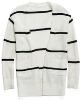 Tucker + Tate Girl's Open Stripe Cardigan