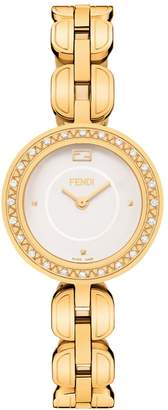 Fendi My Way Stainless Steel & Diamond Bracelet Watch