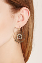 Forever 21 FOREVER 21+ Stud Filigree Drop Earring Set