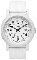 Timex Women's IQ T2N718 Resin Quartz Watch with Dial