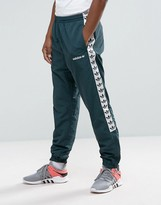 adidas Adicolor TNT Tape Wind Track Joggers In Green BR6968