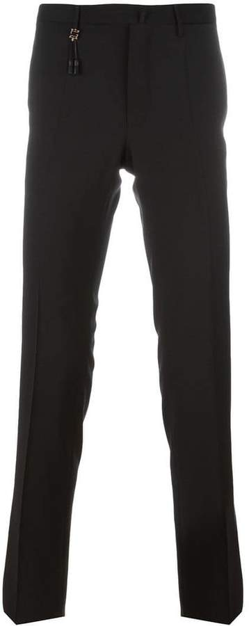 Incotex skinny tailored trousers