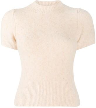 Sandro Short-Sleeve Knit Top