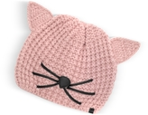 Karl Lagerfeld Pink Choupette Knit Hat
