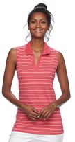 Croft & Barrow Women's Pique Sleeveless Polo