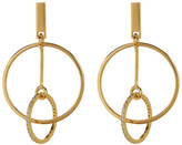 Botkier Orbital Circle Drop Earrings