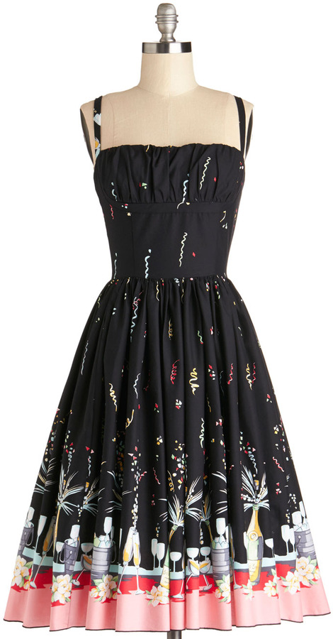 Dexter Bernie Countdown to Confetti Dress