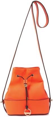 Emilio Pucci Bonita Leather Bucket Bag