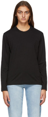 Comme des Garçons Shirt Black Back Logo Long Sleeve T-Shirt