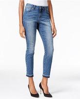 Thalia Sodi Released-Hem Dark Wash Skinny Jeans, Only at Macy's