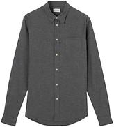 Jigsaw Flannel Melange Slim Shirt