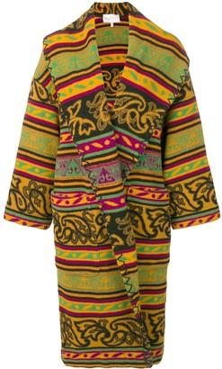 A.N.G.E.L.O. Vintage Cult 1980's Patterned Coat