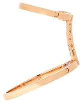Repossi Berbère Elliptique 18kt Rose Gold Earring