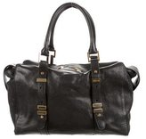 Rachel Zoe Black Leather Satchel