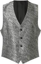 Versace metallic waistcoat