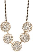 Natasha Accessories 5 Station Mini Flower Necklace