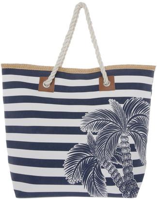 Regatta Palms Double Handle Tote Bag
