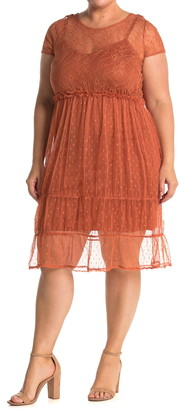 Vero Moda Lace Tiered Dress