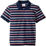 Toobydoo Navy Stripe Polo Boy's Clothing