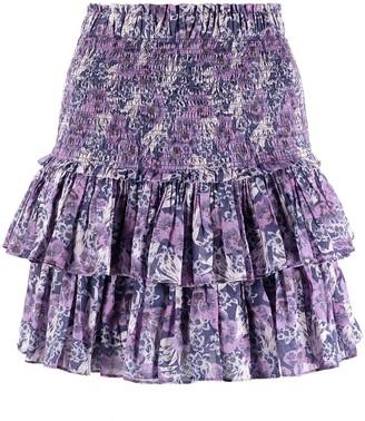 Etoile Isabel Marant Naomi floral-print mini skirt