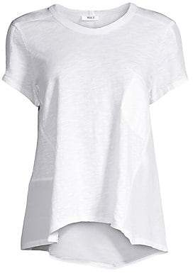 Wilt Women's Mixed Flowy Tee