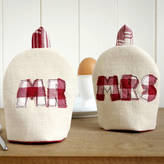 milly and pip Personalised 'Mr And Mrs' Egg Cosies