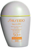 Shiseido Sports BB Broad Spectrum SPF 50+ WetForce Sunscreen/1 Fl. Oz.