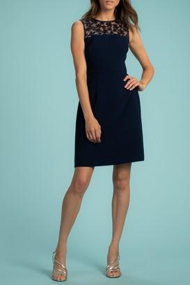 Trina Turk Mystery Sleeveless Crepe Dress
