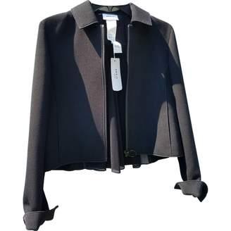 Akris Punto Black Wool Jacket for Women
