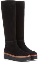 Tod's Suede Knee-high Platform Boots