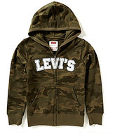 Levi's Big Boys 8-20 Baldwin Camouflage-Printed Marled French Terry Hoodie