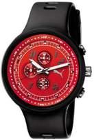 Puma Men's MOTOR PU910401003 Black Polyurethane Quartz Watch with Dial
