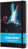 Moleskine Star Wars Lightsaber Ruled Notebook, Black