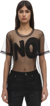 Viktor & Rolf No Sheer Tulle T-shirt