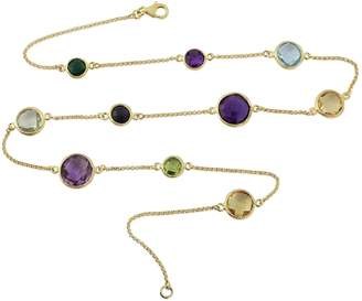 Auree Jewellery Chennai Multi Gemstone & Gold Vermeil Necklace