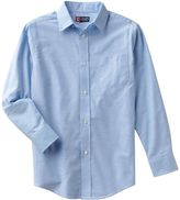 Chaps Boys 4-20 Solid Oxford Button-Down Shirt