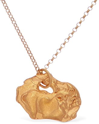 Alighieri PIG ZODIAC CHARM CHAIN NECKLACE