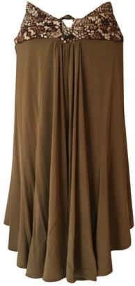 Roberto Cavalli Camel Skirt for Women