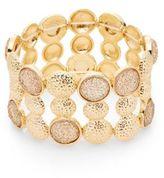 Carol Dauplaise Day Glow Radiant Wide Stretch Bracelet